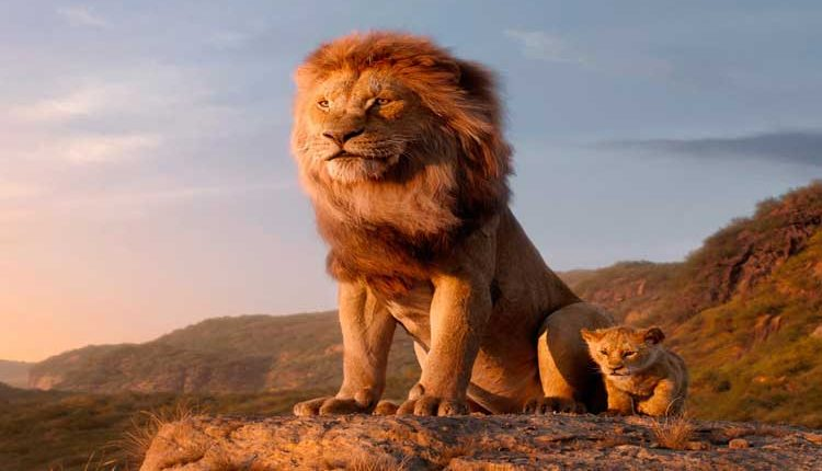 Guess Which Is The Only Real Shot In The Lion King
